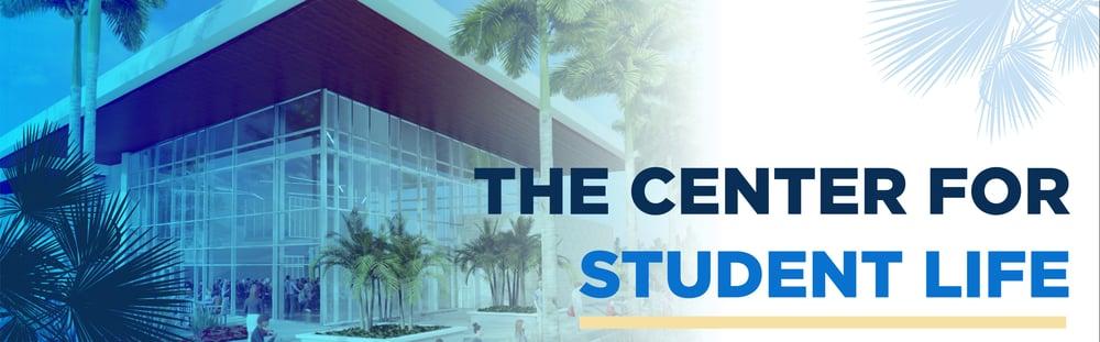 Center for Student Life Banner